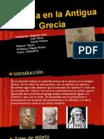 Química en La Antigua Grecia (1)