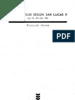 Bovon Francois - El Evangelio Segun San Lucas - 02 - SIGUEME - 1995