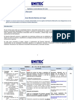 Syllabus Materia Derecho Mercantil Licenciatura