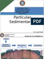 TEMA 2 Partículas Sedimentarias