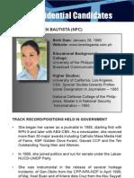 [Philippine Elections 2010] Legarda, Loren