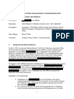Cal Report On Sexual Harassment Allegations