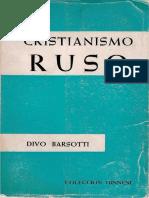BARSOTTI, Divo - Cristianismo Ruso, Sigueme 1966