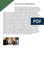 Una revisión de diferentes Forex Trading Software
