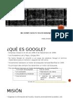 Forma de Administrar Google