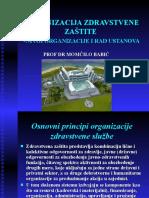 ORGANIZACIJAZDRAVSTVENEZASTITEIZDRAVSTVENEUSTANOVE111