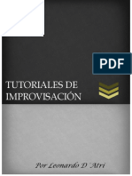 Tutoriales de Improvisación
