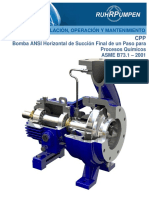 Pump CPP21 IOM-Spanish