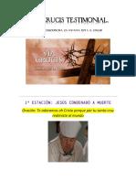Vía Crucis Testimonial