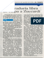 Piedad Zuccardi libre de culpa