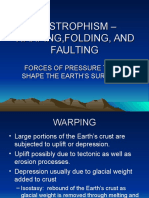 Diastrophism – Folding, Faulting and More