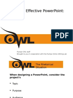 Quick Guide to Designing an Effective Powerpoint Presentation