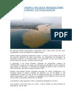 Rio Doce - Resultados Da Catástrofe - Paulo Rosman