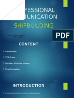 Shipbuilding and Pre-Salt Brazil