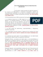Articulos Objetables Del to de Elecciones Primarias.comentado