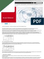 Hojas técnicas - Circulación de aire por conductos I | S&P Sistemas de Ventilación