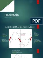 Características gráficas de la derivada