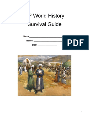 AP World History Survival Guide | Neolithic | Religious