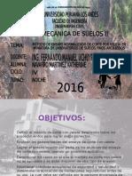 MÉTODO DE ENSAYO NORMALIZADO DE CORTE POR VELETA EN  MINIATURA DE LABORATORIOS DE SUELOS FINOS ARCILLOSOS- DIAPOSITIVAS