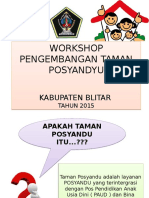 Advokasi Taman Posyandu