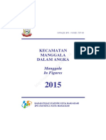 Kecamatan Manggala Dalam Angka 2015