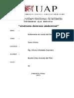 Caso Clinico Sd. Doloroso Abdominal
