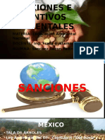Sanciones e Incentivos Ambientales Presentacion