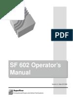 SF 602 Manual