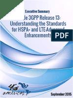 4G Americas Executive Summary 3GPP Release 13 2