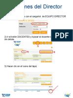 Informe Del Director a Docente (Concurso)