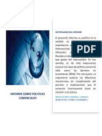 Politicas Comerciales y Barreras no arancelarias