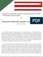 Lázaro Carreter_Para una revisión del concepto novela picaresca.pdf