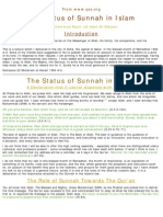 Status of Sunnah in Islam
