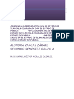 Comparación de Tlaxcala y Peubla en Salud Publica.