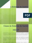 Gestion y Aseguramiento de La Calidad_4-Clases de Sistemas de Gestión
