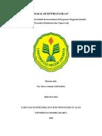 Tugas KUBB SMT 104Makalah Kewirausahaan Nur Alivia Arianda (Biologi Reguler 2014)