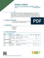 4,, PSMN4R8-100BSE