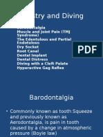 Dentistry in Diving