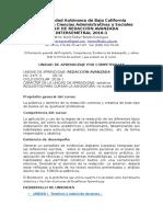 Curso Redacción Avanzashshda - Criterios de Evaluación