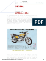 Suzuki Gt380l Montagem tecnica