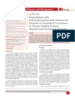 Hemodialysis with Polymethylmethacrylate Restores the Response to Hepatitis B Vaccination in Chronic Dialysis Patients