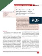 Parathyroidectomies