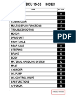 Toyota Electric 7FBCU 15-55 Service Manuals -Forklift