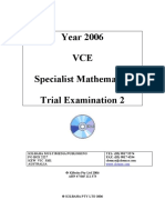 [Specialist] 2006 Kilbaha Exam 2