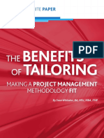 Benefits of Tailoring