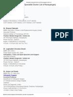 Orthopedics Specialist Doctor List of Narayanganj
