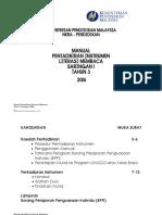 Manual Pentadbiran Instrumen Literasi Membaca Saringan 1 Tahun 3 2106.pdf