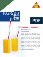 KG-520 Boom barrier