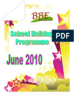 BBE June Holiday Programme 2010