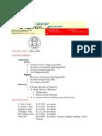 information aboutGCET